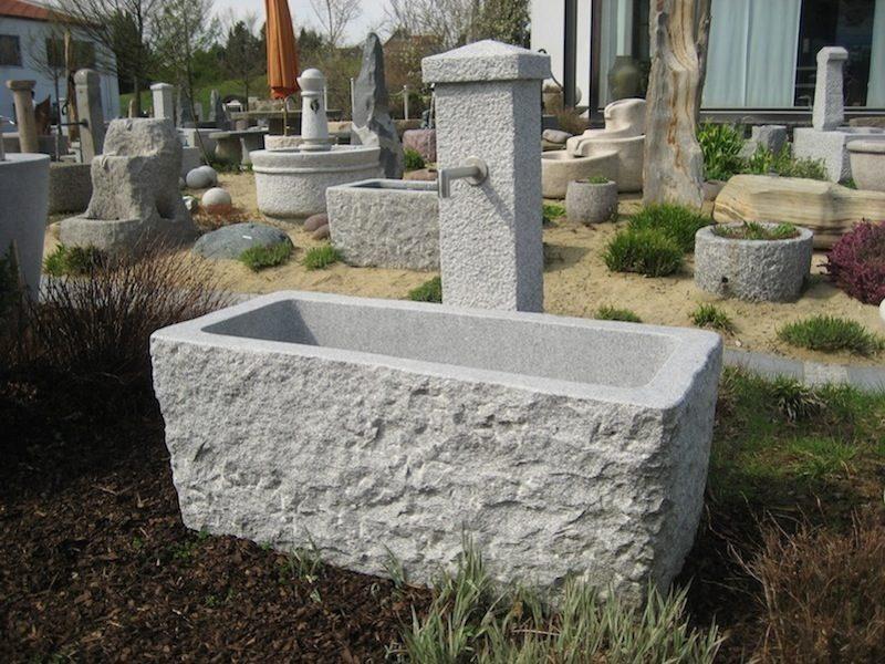 Granitbrunnen, Steinbrunnen für den Garten