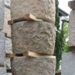 Brunnen aus Granit 80cm