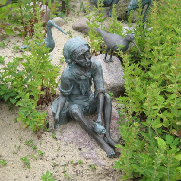 Bronzefigur Jaques