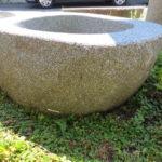 Brunnen aus Granitfindling 115x75h50 BWk022 (2)