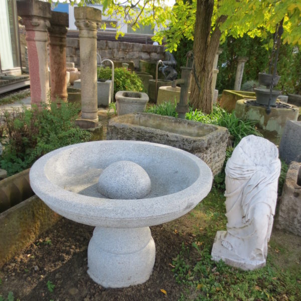 Brunnen im italienischen Stil