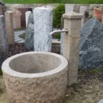 Gartenbrunnen aus Granit