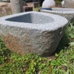 Findlingsbrunnen Granit