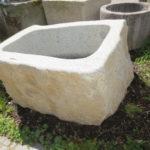 Granitbrunnen Findlingsbrunnen